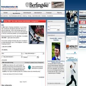 MBA programmes & Executive Education