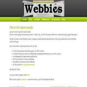 Webbies - Webdesign