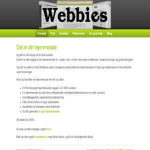 Webbies - Webdesign