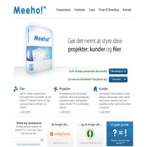 Meeho! - projects, clients & files