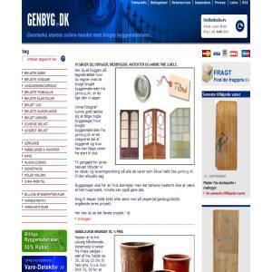 Buildingmaterial from Genbyg.dk