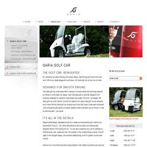 Exclusive Golf Car