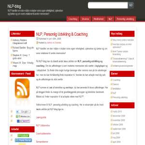 NLP, personal development and coaching