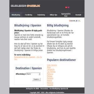 Biludlejning-Spanien.dk
