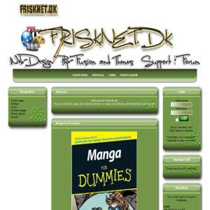 Frisknet.dk - php fusion Themes - tips and triks