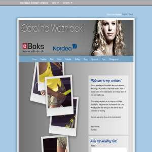 Caroline Wozniacki Official Website