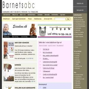 Barnets abc regarding baby and children