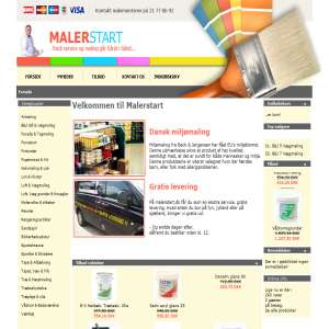 malerstart.dk - because the service and painting go hand in hand