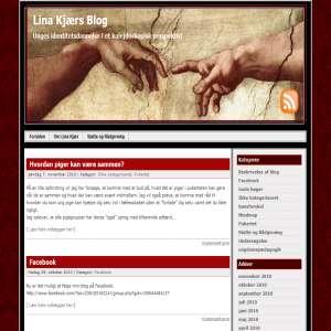Lina Kjærs Blog