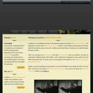 Digital film restoration | Dust-busting