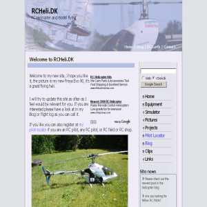 RCHeli.dk - RC helicopters & model flying