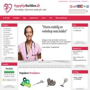Nurse equipment from sygeplejebutikken.dk