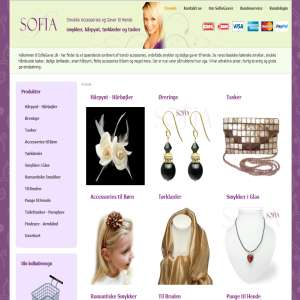Jewelry, Accessories & Gifts for Her - from SofiaGaver.dk