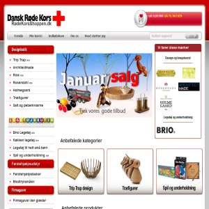 Danish Red Cross Web shop