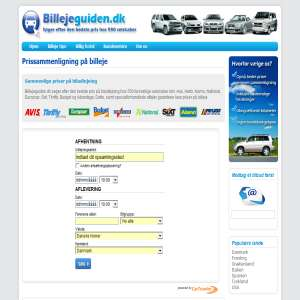 Biludlejning - billejeguiden.dk