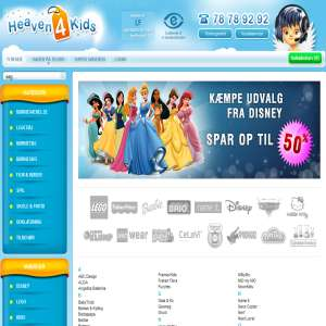 Heaven4Kids.dk Toy Webshop