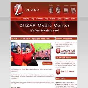 ZIIZAP Media Center