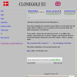 CloneGolf
