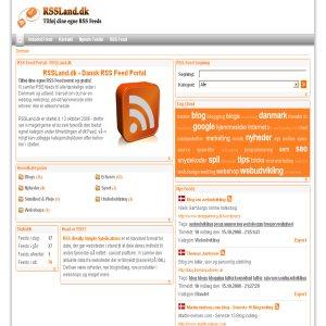RSS Feeds from Denmark - RSSLand.dk