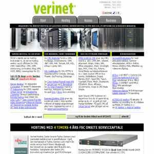 Verinet Server Hosting Center