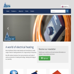 A world of electrical heating - Kuhlmann Electro Heat - drum heater, container heater, heating blankets, electrical heating