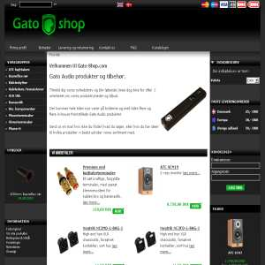 Highend audio accesories at Gato-shop.com