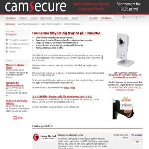 CamSecure.dk - Video surveillance