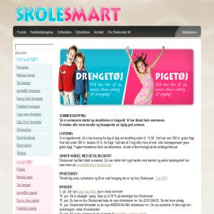 Childrens cloting - Skolesmart.dk