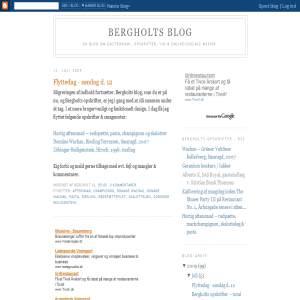 Bergholts Blog