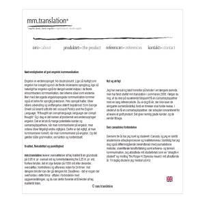 mmtranslation.dk