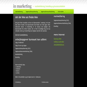 In Marketing - SEO and SEM