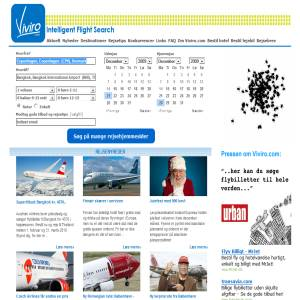 Cheap flight on Viviro.com