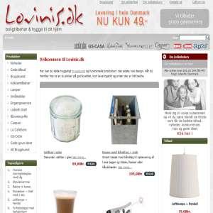 Lovinis.dk - brugskunst & gaveartikler