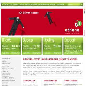 IT Outsourcing and Hosting from Athena