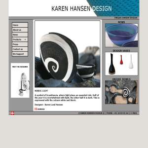 Danish Design from KAREN HANSEN DESIGN
