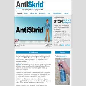 AntiSkrid - Anti slip protection