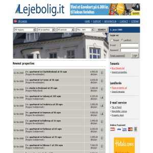 Lejebolig - Denmarks professional property rental site