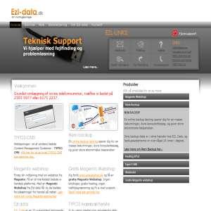 Ezl-data - Proffesionelle Typo3 webløsninger