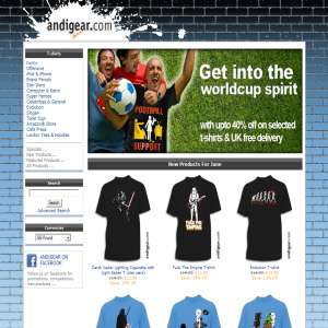 Andigear T-shirt Galore!
