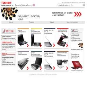 Toshiba - Computer Systems Danmark