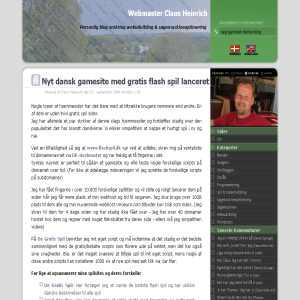 Claus Heinrich - Danish Blog