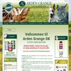 Arden Grange Healthy & Natural feed