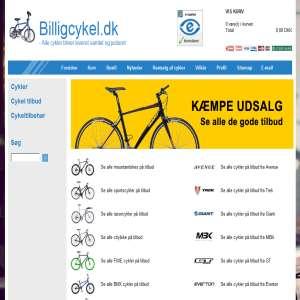 Bikes from Billigcykel.dk