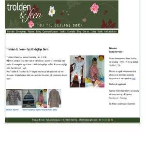Childrens Clothing from Trolden & Feen