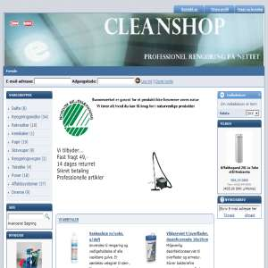Cleanshop, cleaning