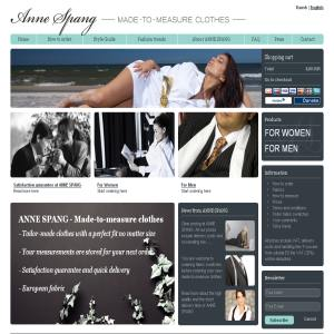 ANNE SPANG - Made-to-measure clothes online