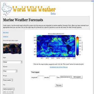Marine Weather Forecasts