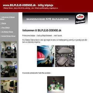 Odense Bilpleje - we take care of your car