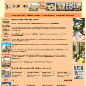 Vacation Houses in Spain from spansommer.dk