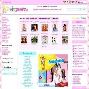 Girls games at Cindysgames.dk
